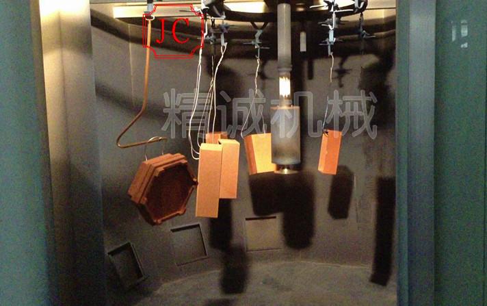 包装木盒静电喷涂